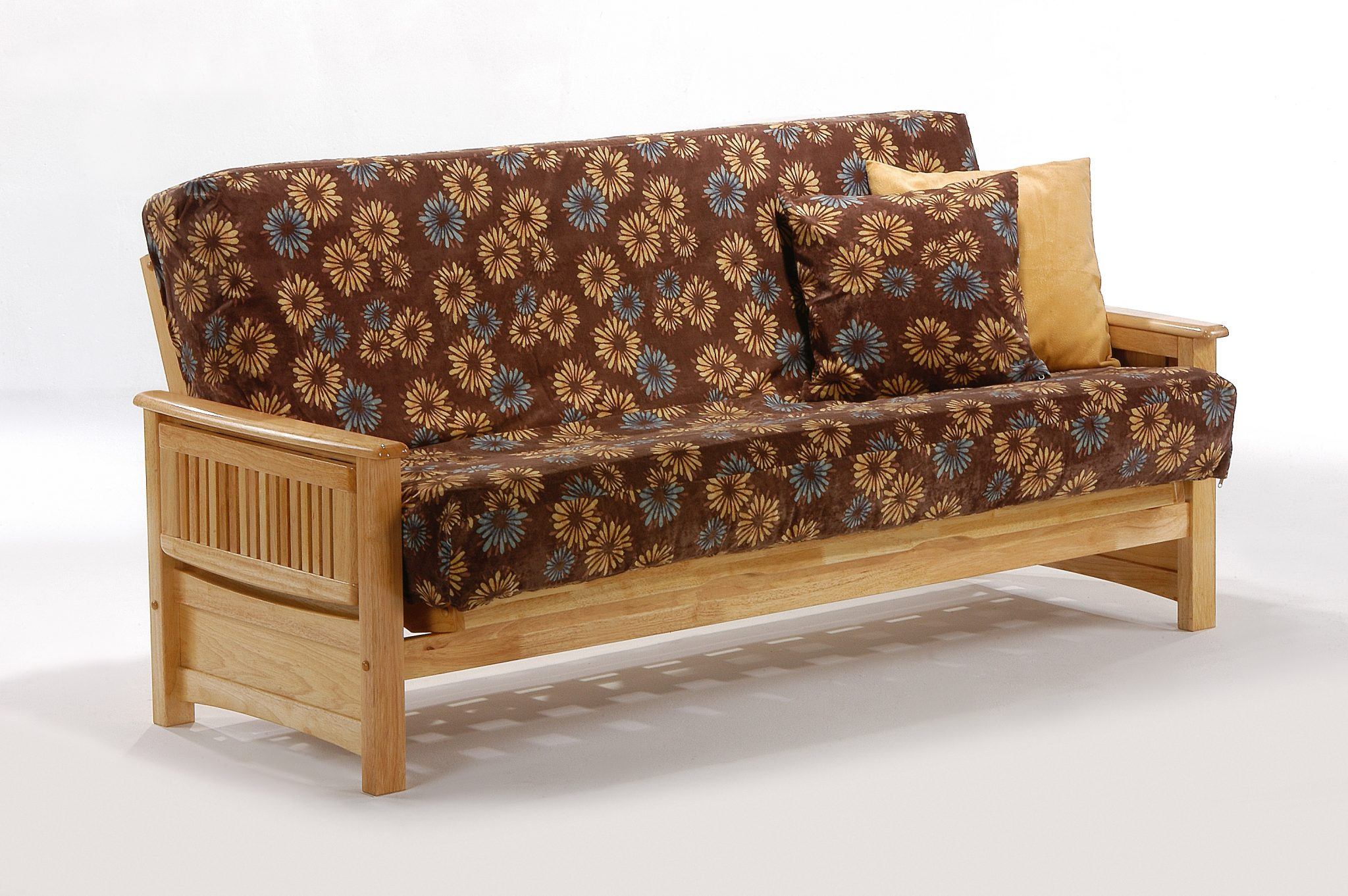 Futon Sunrise Arm Natural