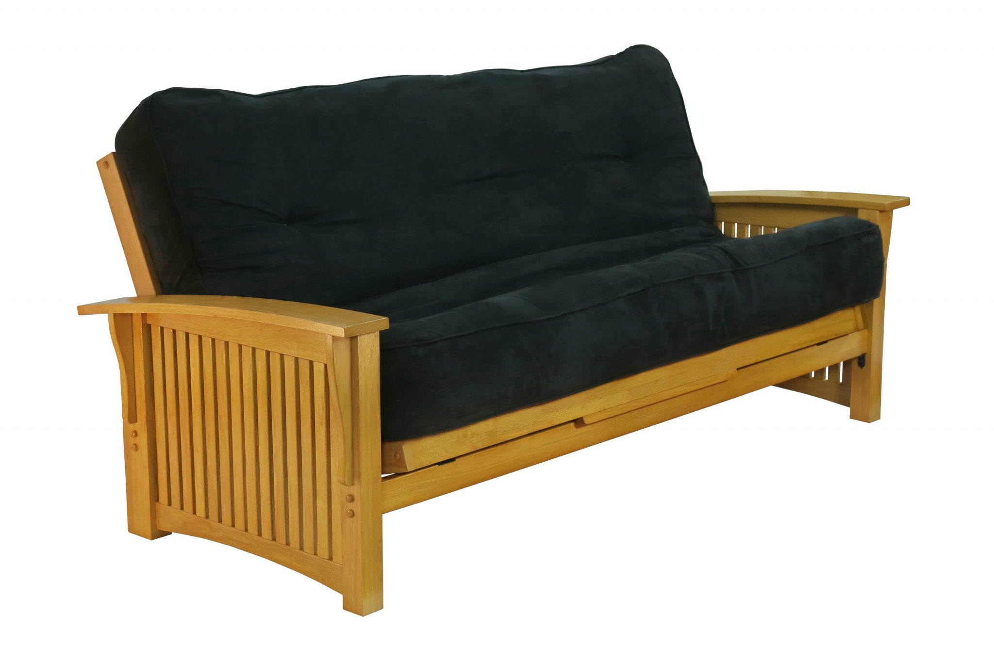 Futon Winter Arm Honey Oak